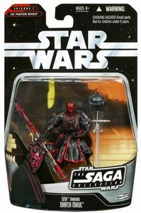Star Wars Saga 2006 Basic Action Figure #53 Darth Maul (Sith Training)