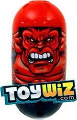 Mighty Beanz Marvel Common Single Bean #29 Red Hulk