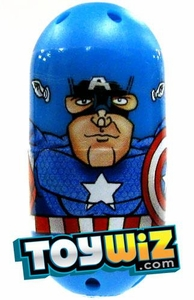 Mighty Beanz Marvel Common Single Bean #3 Captain America