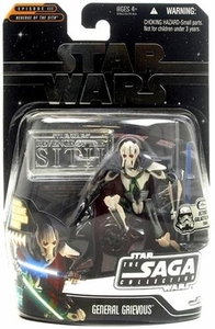 Star Wars Saga 2006 Basic Action Figure General Grievous (Ultimate Galactic Hunt)