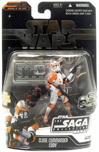 Star Wars Saga 2006 Basic Action Figure Commander Cody (Ultimate Galactic Hunt)