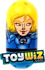 Mighty Beanz Marvel Common Single Bean #36 Invisible Woman [Sue Storm]