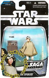 Star Wars Saga 2006 Basic Action Figure #36 Luke Skywalker [Tatooine]