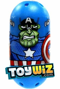 Mighty Beanz Marvel Rare Single Bean #40 Captain America Skrull