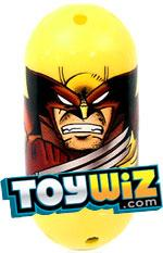 Mighty Beanz Marvel Rare Single Bean #44 Wolverine [Brown & Yellow]