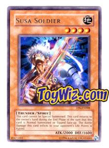 YuGiOh Tournament Pack 6 Single Card Rare TP6-EN008 Susa Soldier