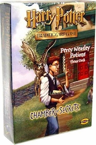 Harry Potter Card Game Chamber of Secrets Theme Deck Percy Weasley Potions