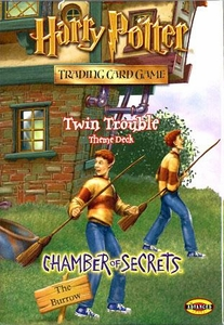 Harry Potter Card Game Chamber of Secrets Theme Deck Twin Trouble