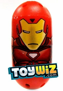 Mighty Beanz Marvel Exclusive Ultra Rare Single Bean #61 Iron Man