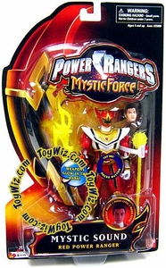 Power Rangers Mystic Force Sound Action Figure Red Power Ranger