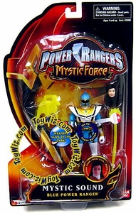Power Rangers Mystic Force Sound Action Figure Blue Power Ranger