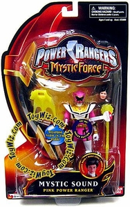 Power Rangers Mystic Force Sound Action Figure Pink Power Ranger