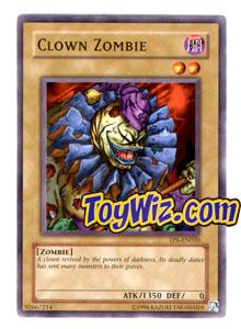 YuGiOh Tournament Pack 6 Single Card TP6-EN020 Clown Zombie