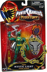 Power Rangers Mystic Force Mystic Light Action Figure Green Power Ranger