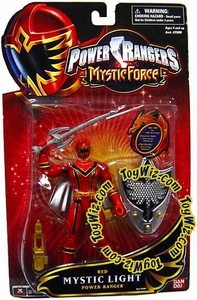 Power Rangers Mystic Force Mystic Light Action Figure Red Power Ranger