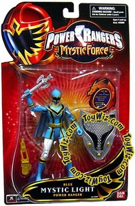Power Rangers Mystic Force Mystic Light Action Figure Blue Power Ranger BLOWOUT SALE!