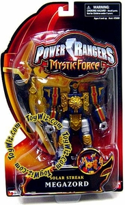 Power Rangers Mystic Force Action Figure Solar Streak Megazord