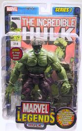 Marvel Legends Series 1 Action Figure Hulk