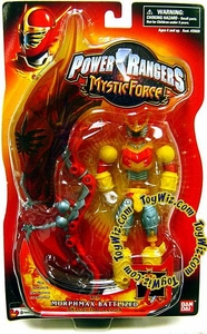 Power Rangers Mystic Force Deluxe Action Figure Red Morphmax Battlized Ranger