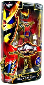 Power Rangers Mystic Force 12 Inch Mega Talking Power Ranger Red Dragon Fire