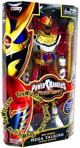 Power Rangers Mystic Force 12 Inch Mega Talking Power Ranger Red Legend