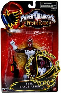 Power Rangers Mystic Force Action Figure Evil Space Alien