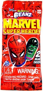 Spin Master Mighty Beanz ORIGINAL Marvel Super Heroes Booster Pack [2 Beanz]