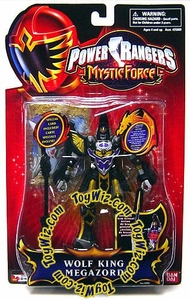 Power Rangers Mystic Force Action Figure Wolf King Megazord