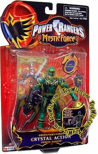 Power Rangers Mystic Force Crystal Action Figure Green Ranger