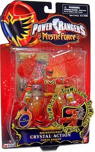 Power Rangers Mystic Force Crystal Action Figure Red Ranger