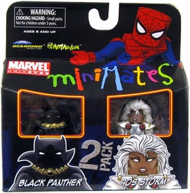 Marvel Minimates Series 29 Mini Figure 2-Pack Storm & Black Panther