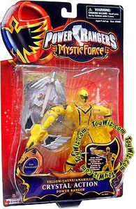 Power Rangers Mystic Force Crystal Action Figure Yellow Ranger