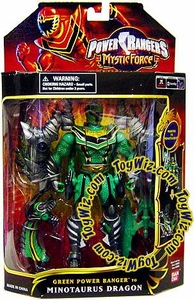 Power Rangers Mystic Force Dragon Morphin Action Figure Green Ranger to Minotaurus Dragon