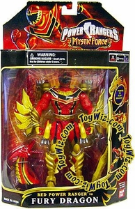 Power Rangers Mystic Force Dragon Morphin Action Figure Red Ranger to Fury Dragon