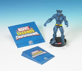 Marvel Legends Showdown Booster Pack with Super Poseable Action Figure Beast (Blue)