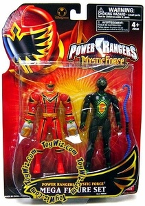 Power Rangers Mystic Force Exclusive Mega Action Figure Set 2-Pack Red Ranger & Black Triptoid