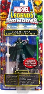 Marvel Legends Showdown Booster Pack with Super Poseable Action Figure Dr. Doom