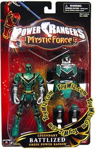 Power Rangers Mystic Force Legendary Battlized Action Figure Green Ranger to Green Mystic Titan