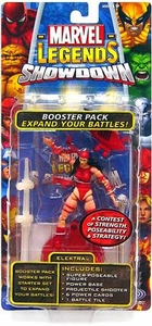Marvel Legends Showdown Booster Pack with Super Poseable Action Figure Elektra Damaged Package, Mint Contents!
