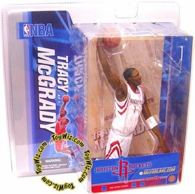McFarlane Toys NBA Sports Picks Series 10 Action Figure Tracy McGrady (Houston Rockets) White Jersey Variant