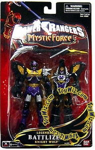 Power Rangers Mystic Force Legendary Battlized Action Figure Knight Wolf