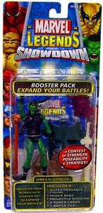 Marvel Legends Showdown Booster Pack with Super Poseable Action Figure Green Goblin