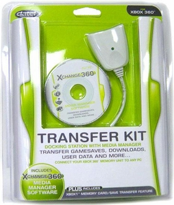 Datel XBox 360 Transfer Kit Docking Station & Media Manager with XChange 360