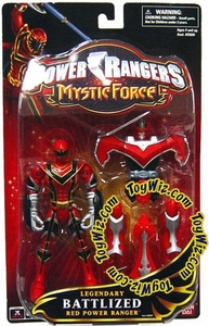Power Rangers Mystic Force Legendary Battlized Action Figure Red Ranger to Red Mystic Titan