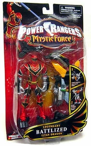 Power Rangers Mystic Force Legendary Battlized Action Figure Red Ranger to Titan Dragon BLOWOUT SALE!