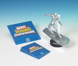 Marvel Legends Showdown Booster Pack with Super Poseable Action Figure Silver Surfer