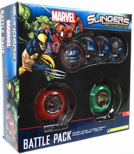 Marvel Slingers Magnetic Pick-Up Game Battle Pack