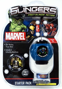 Marvel Slingers Magnetic Pick-Up Game Starter Pack Captain America