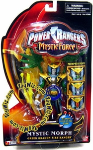 Power Rangers Mystic Force Action Figure Mystic Morph Green Dragon Fire Ranger