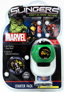 Marvel Slingers Magnetic Pick-Up Game Starter Pack Hulk